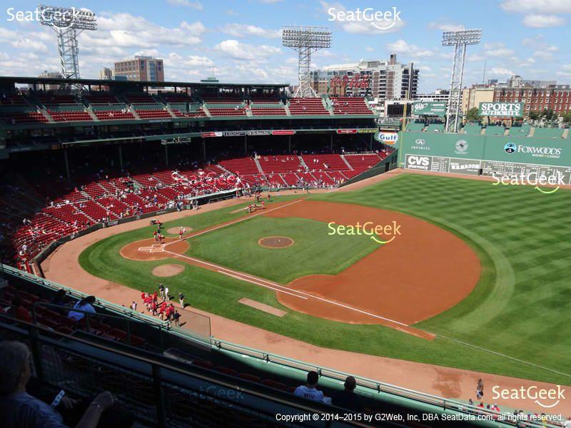 Boston Red Sox At Fenway Park Pavilion Box 11 View Bc Misc