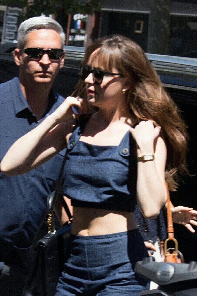 Dakota Johnson out shopping in Paris today  (Jul. 19, 2016)