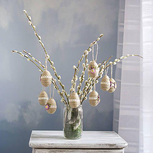 Pipistrela / Veľkonočné vajíčka s kvetmi