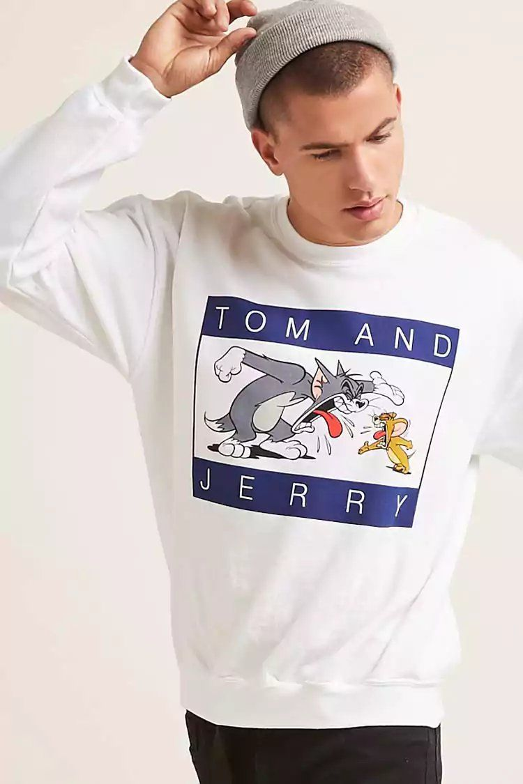faa1c71e32a09 Product Name Tom and Jerry Graphic Sweatshirt