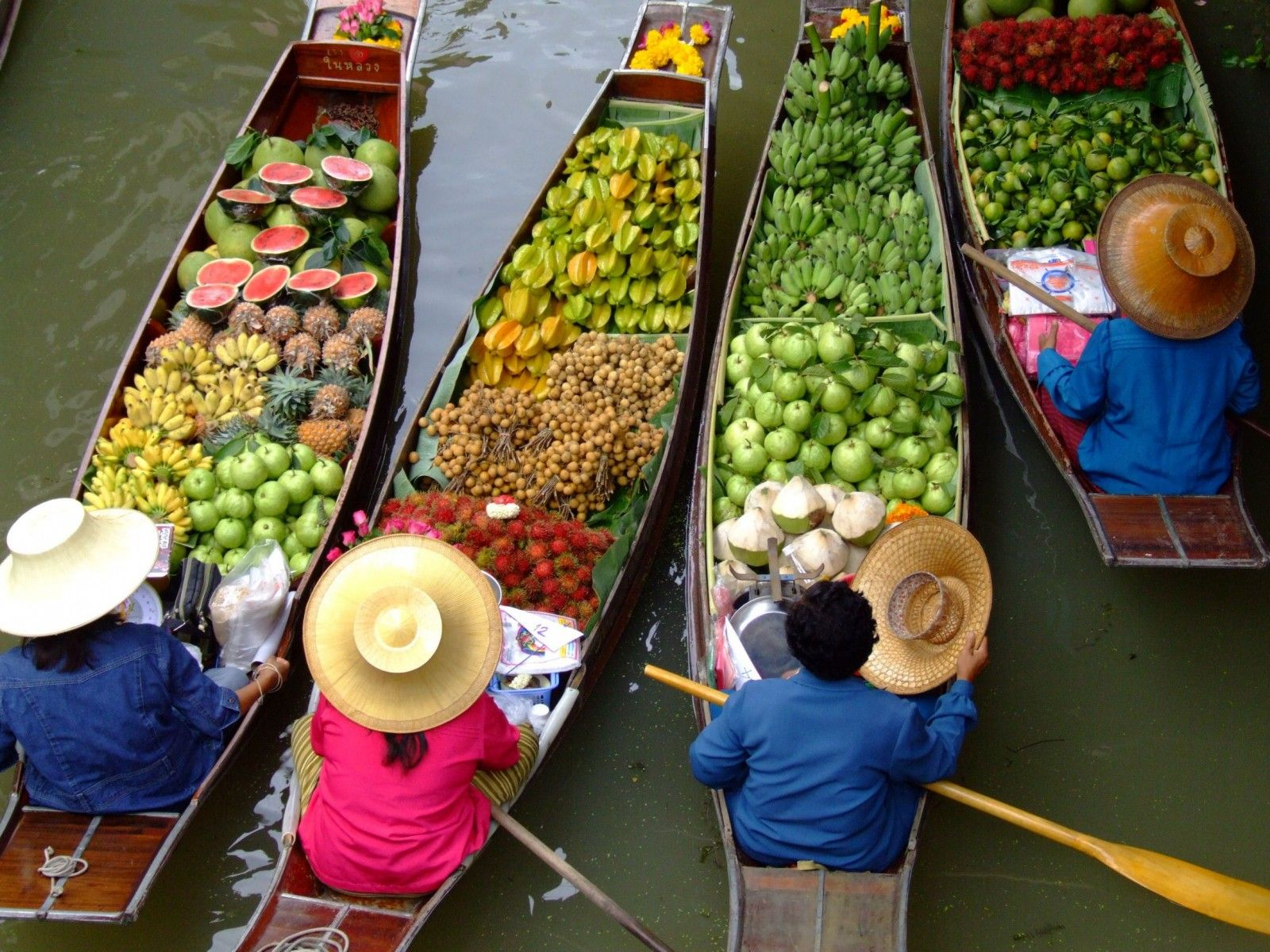 Art Wolfe Floating Market Pin By Sreedevi Balaji On Market Floating Market Bangkok