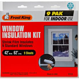 Frost King Clear Poly Window Weatherstrip Asia- as you suggested, I may try this (though our curtains do a pretty good job)
