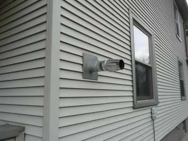 Images Of Exterior Pellet Stove Venting Gallery Of