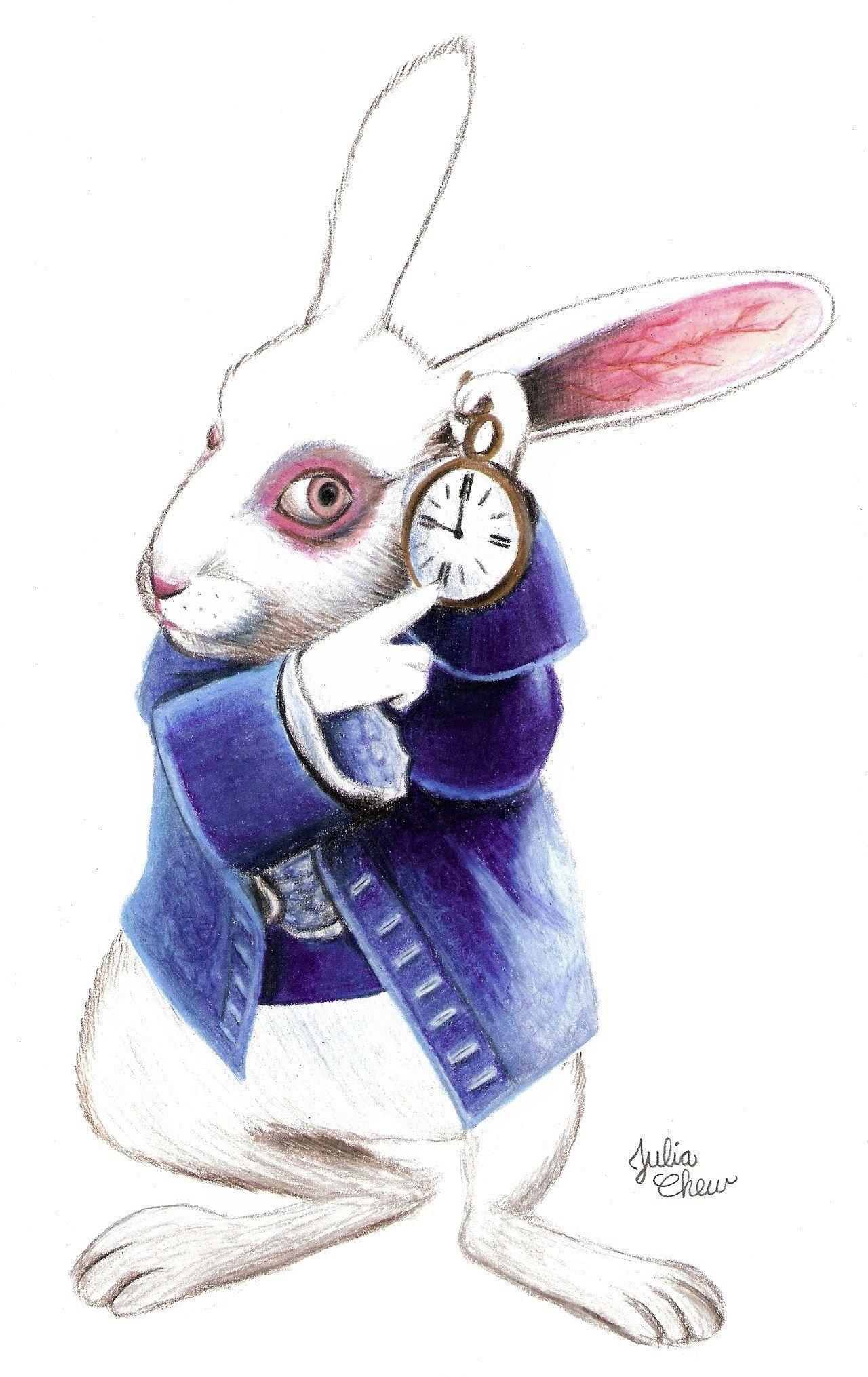 картинки заяц алиса в стране чудес царственной семьи придает