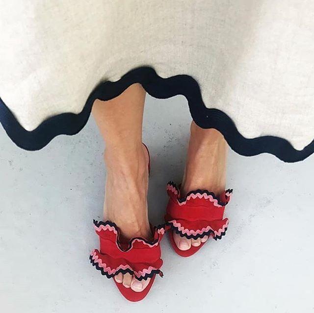 LOEFFLER RANDALL PINNED FOOTWEAR | Design Finder #LOEFFLERRANDALL