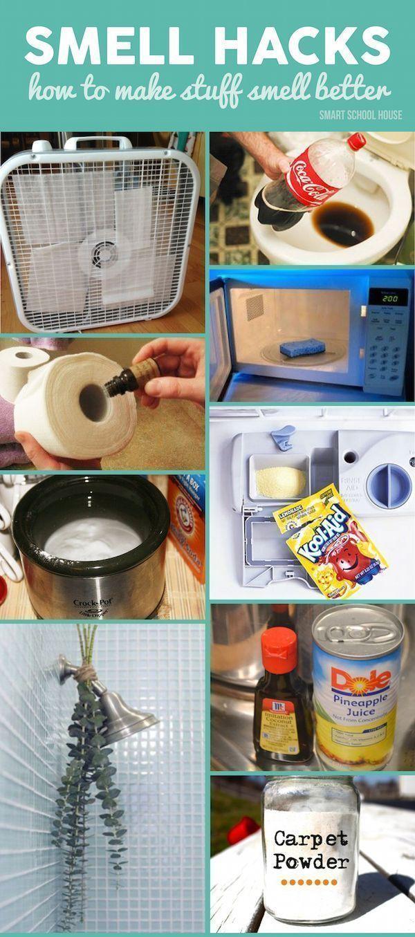 smell hacks smart school house house cleaning tips. Black Bedroom Furniture Sets. Home Design Ideas