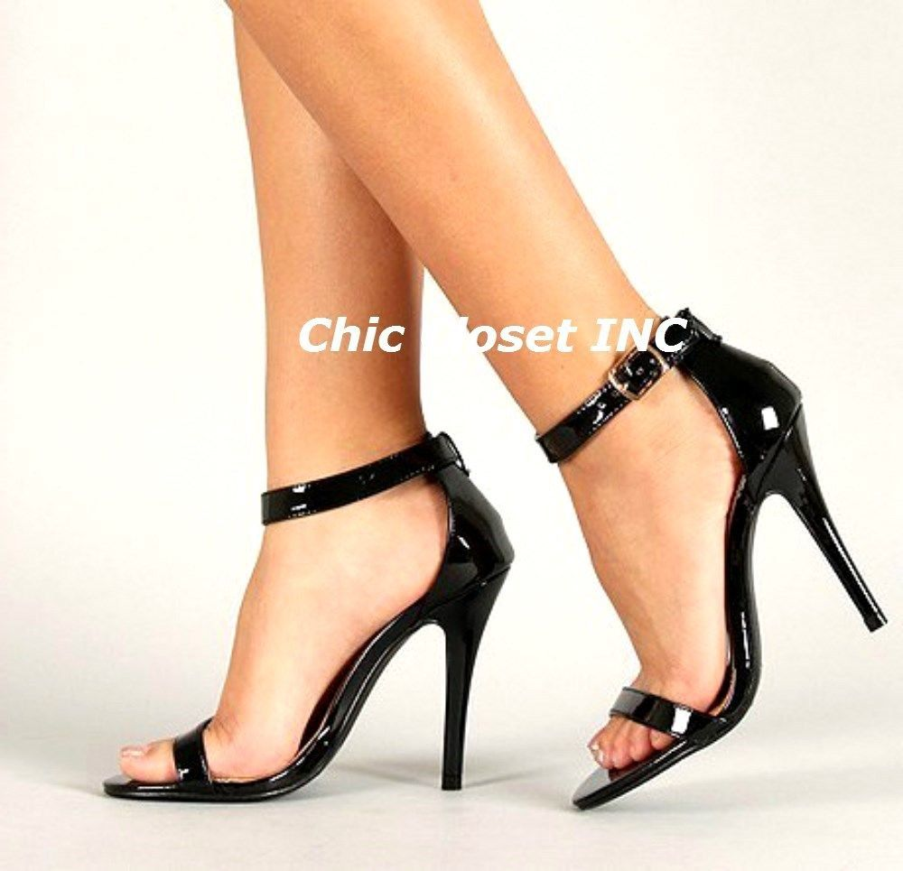 Details about New Women High Heel Stilettos Open Toe Ankle Strap Wedges  Platform Sexy Sandals - Details About New Women High Heel Stilettos Open Toe Ankle Strap