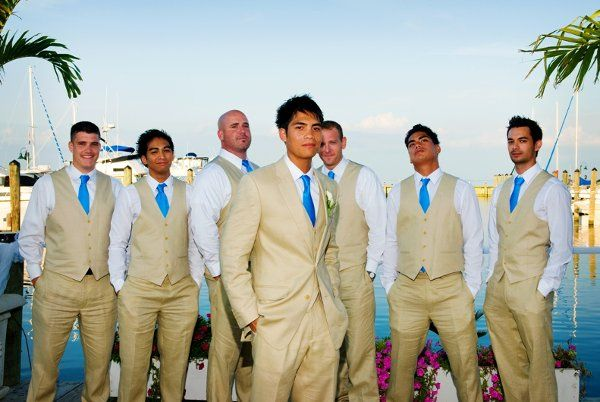 find this pin and more on beach wedding beach wedding groomsmen attire