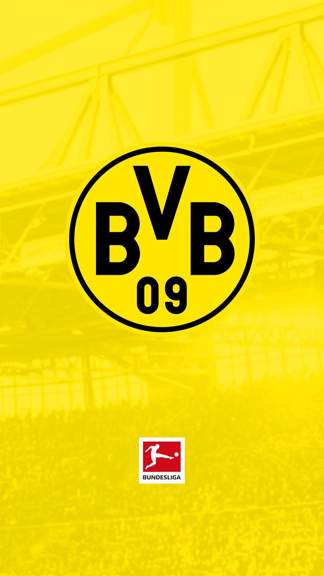 Bundesliga Download Your Free Bundesliga Club Wallpaper To Your Phone Team Wallpaper Football Wallpaper Borussia Dortmund Wallpaper