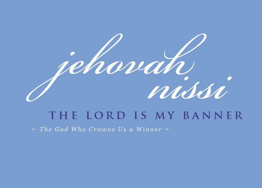 Names-of-God-7-jehovah-nissi   Names of god   Names of god