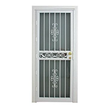 Wire Mesh Security Doors   Doors Keeps Out Lets In Chain Mesh Overhead Door  Increase Security