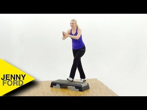 Step Aerobics Step By Step 2 Jenny Ford Youtube Step