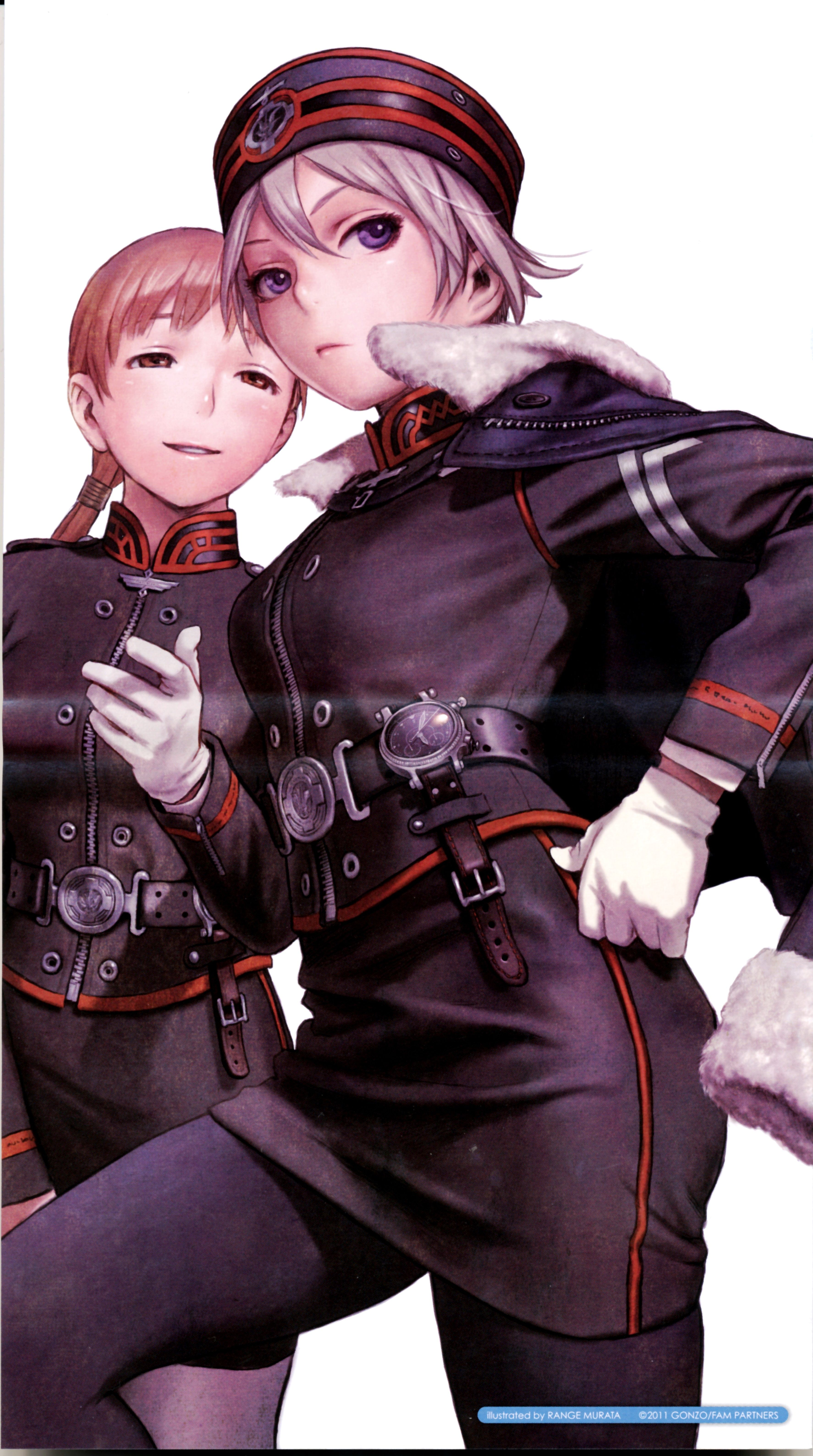 Last Exile: Fam, The Silver Wing - Alister & Tatiana ...