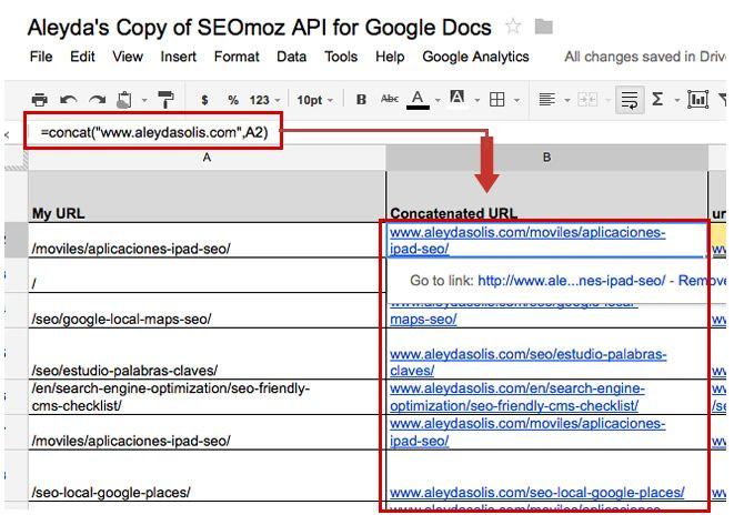Building Dashboards Using Google Analytics and Google Apps Script - spreadsheet google docs