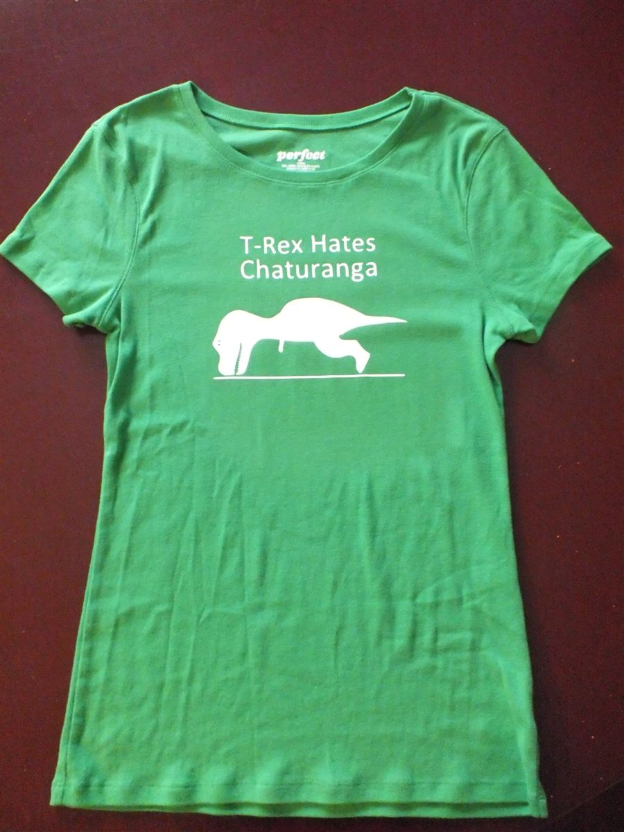 T Rex Hates Chaturanga Hilarious Yoga Shirt Clever Shirt Yoga Shirts Athletic Shirts