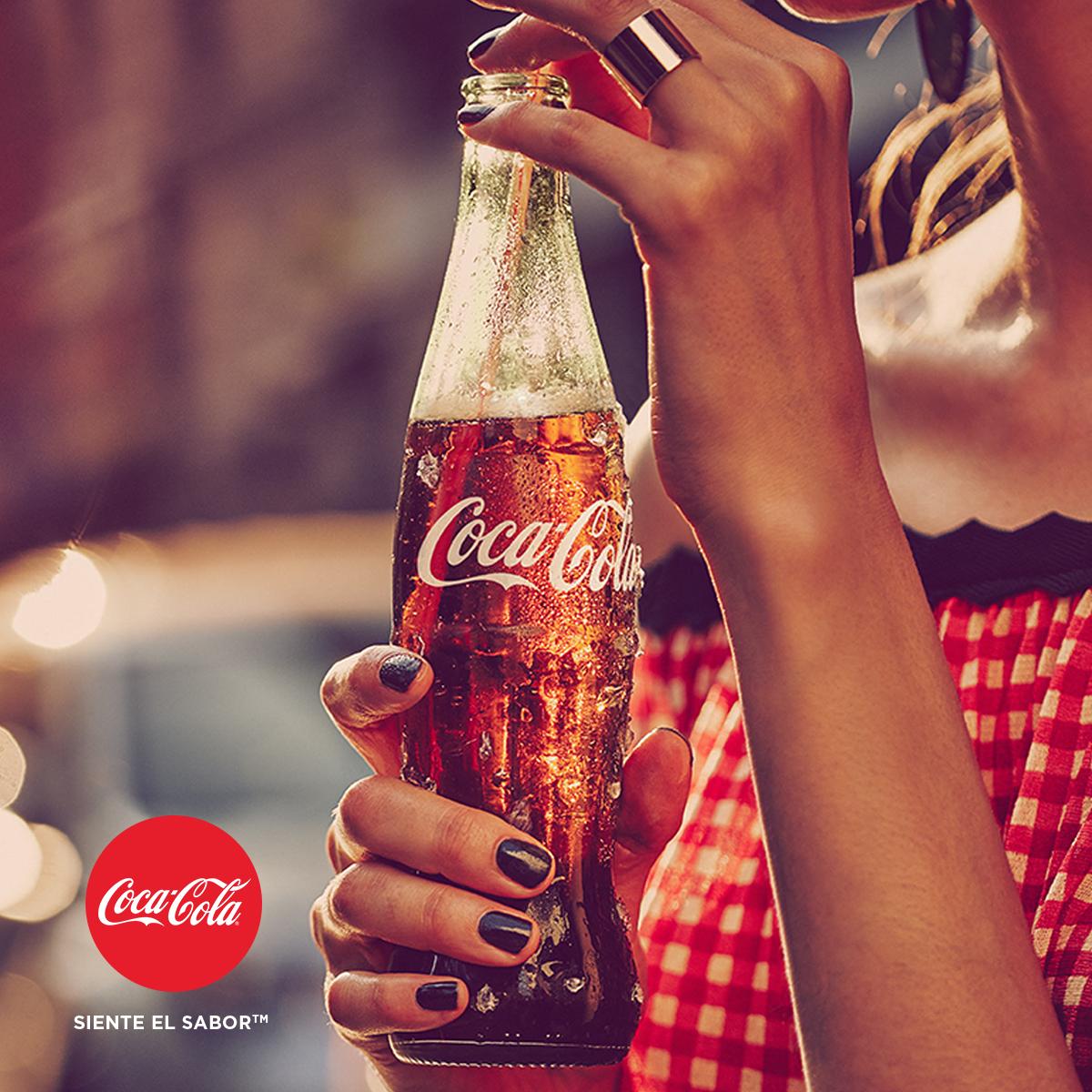 Publicidad Coca Cola Siente El Sabor Pin En Proyecto