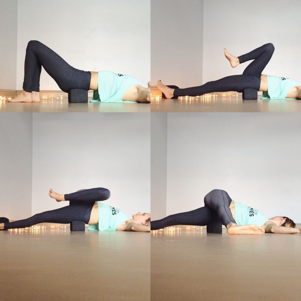 Yin Yoga Sequence With Blocks