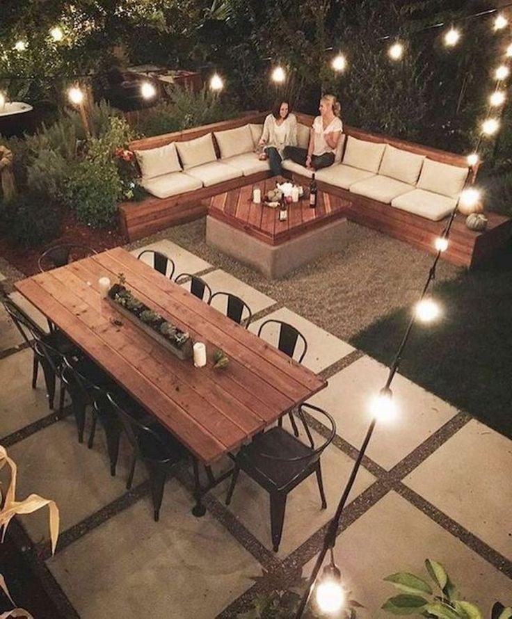 50+ Marveolus Small Backyard Garden Landscaping Ideas #garden #gardening #garden #gartenlandschaftsbau