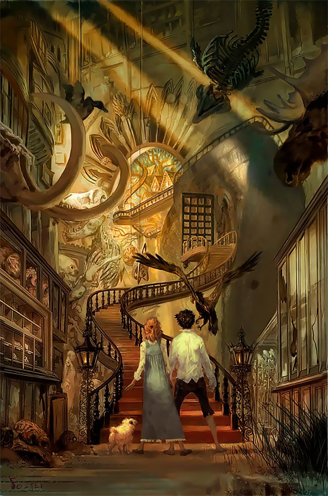 """Photo of """"Something Wicked This Way Comes"""": Superb Illustrations By Jon Foster"""