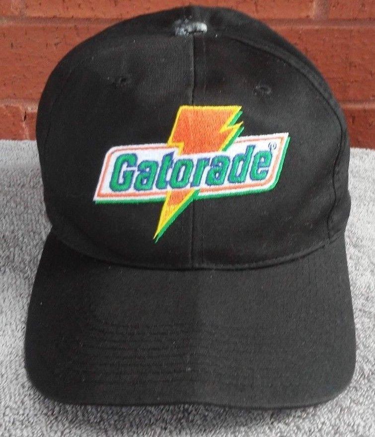 Gatorade Hat Cap Snapback Vtg Sports Specialties Black Orange Green White   SportsSpecialties  truckerCapHatMesh b595942434b2