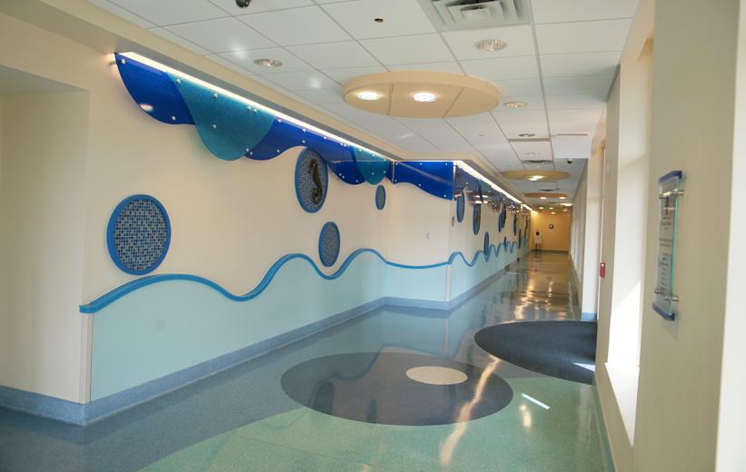 Usa Children S And Women S Hospital Doyle Dickerson Terrazzo Healthcare Design Children Hospital Terrazzo