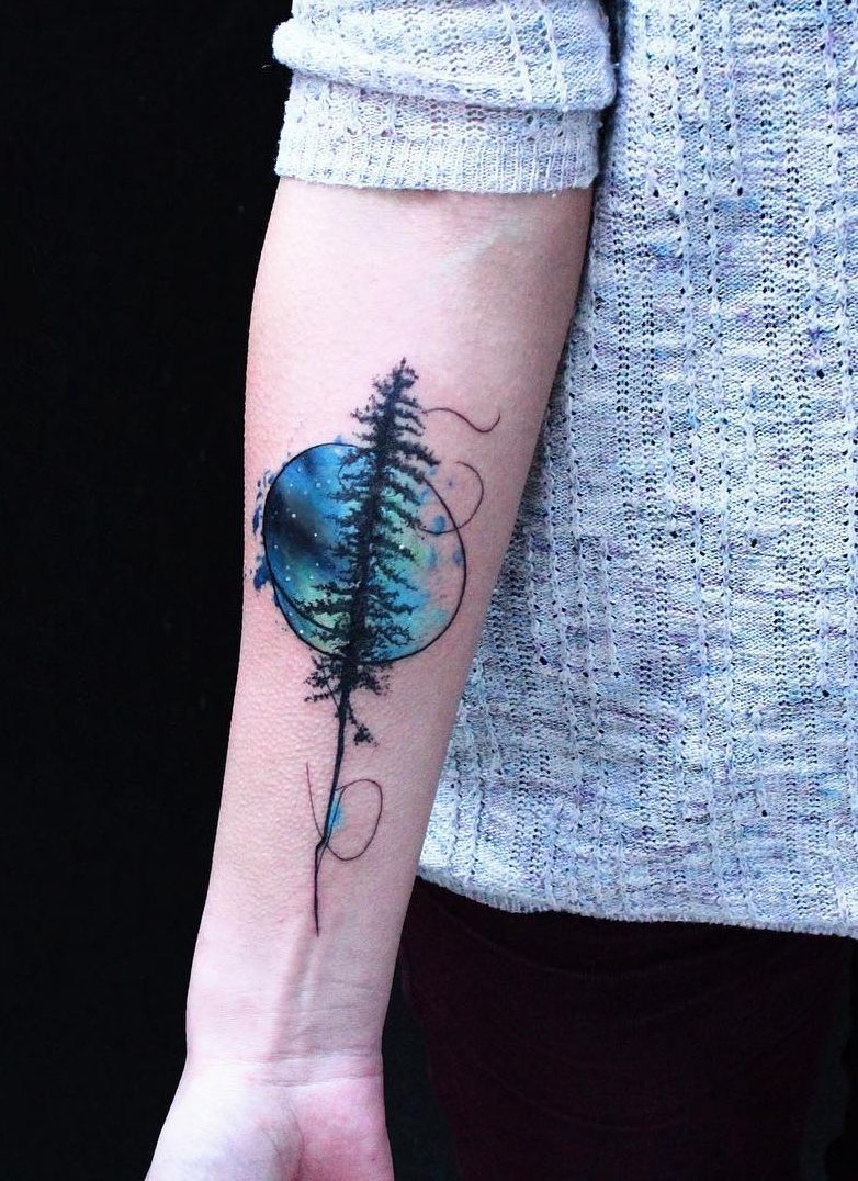 Alaska tattoo ideas northern lights _ alaska tattoo ideas