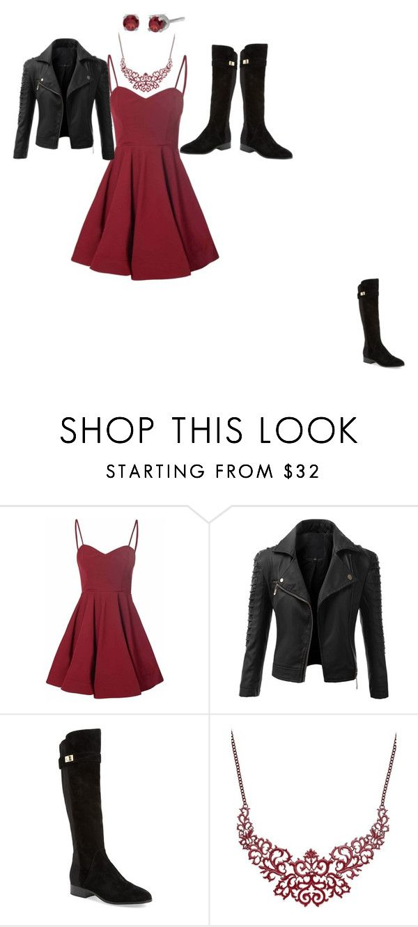 """""""Rockin' Red"""" by the-red-raven on Polyvore featuring Glamorous, Doublju, Nicole Miller, Bar III, women's clothing, women's fashion, women, female, woman and misses"""