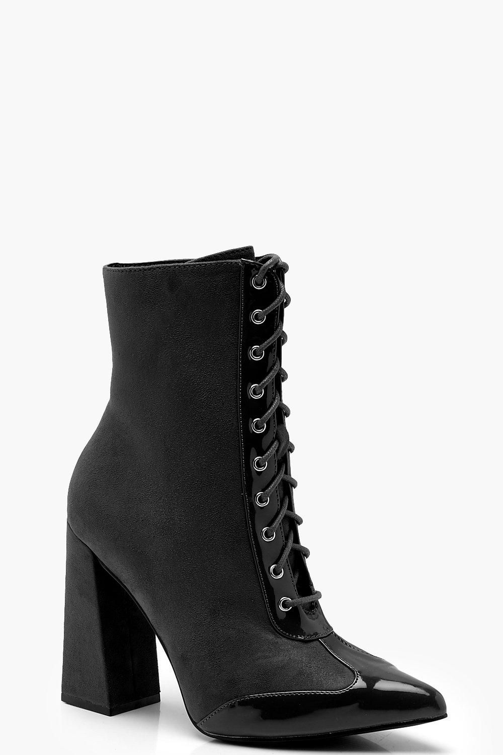 1c5b0b0964 Click here to find out about the Block Heel Hiker Boots from Boohoo, part  of our latest Shoes collection ready to shop online today!