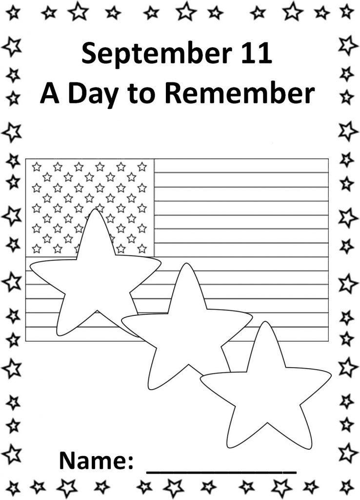 9/11 Coloring Pages Patriots Day Coloring pages