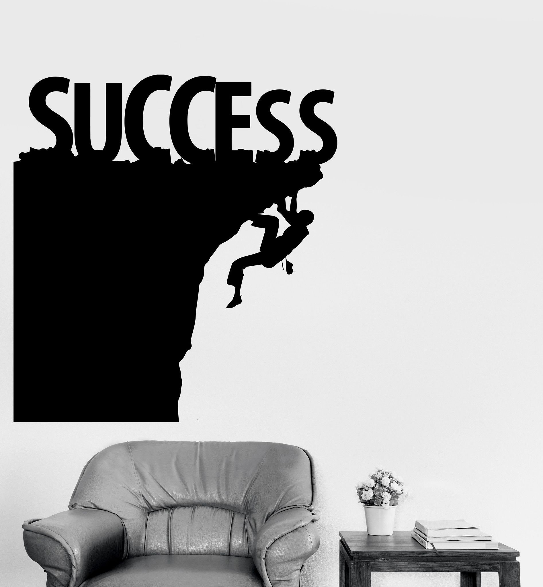 vinyl wall decal success motivation office decor stickers mural vinyl wall decal success motivation office decor stickers mural ig3900
