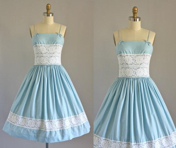 Vintage Spaghetti Strap Dresses