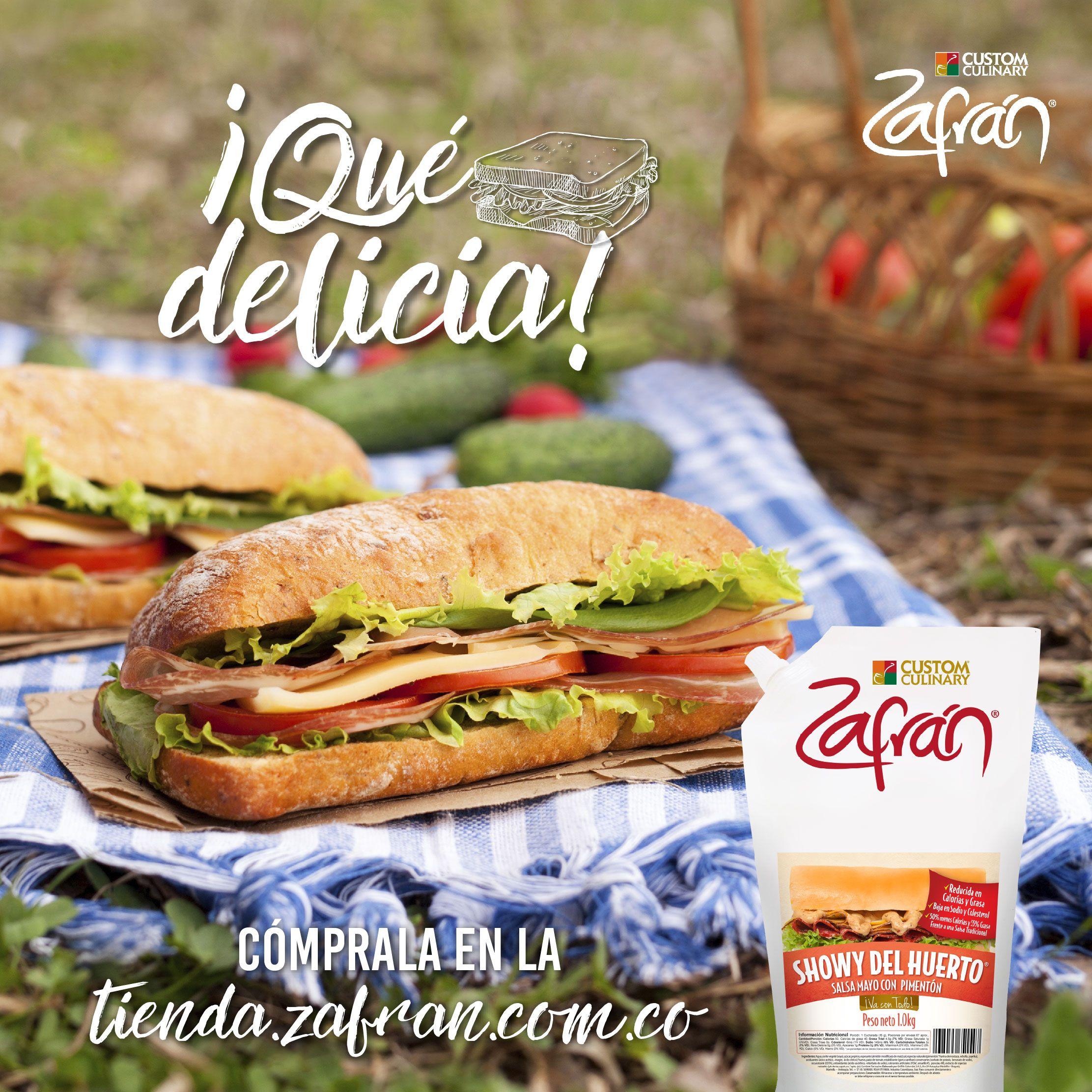 El delicioso toque de pimentón de la Showy® del Huerto Zafrán® la hace la mejor acompañante de tu sándwich. #productoszafran #universozafran
