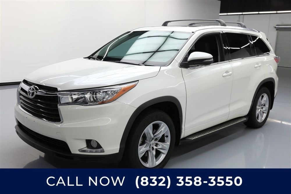 Toyota Highlander Limited Texas Direct Auto 2015 Limited