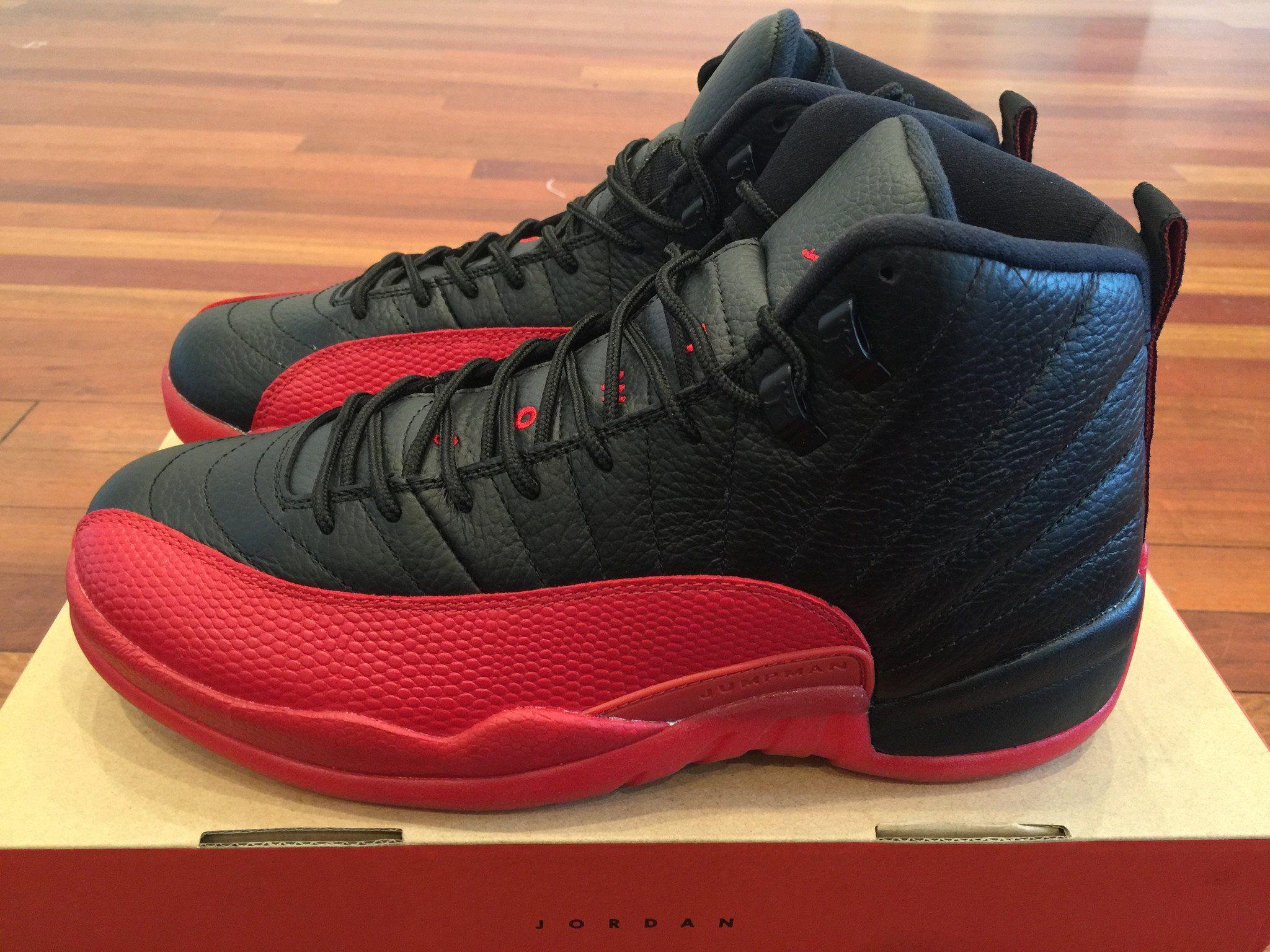 """Air Jordan Retro 12 """"Flu Game"""" 2016"""