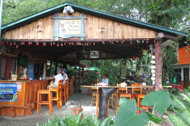 Coco's Mexican restaurant facade   Samara - Costa Rica