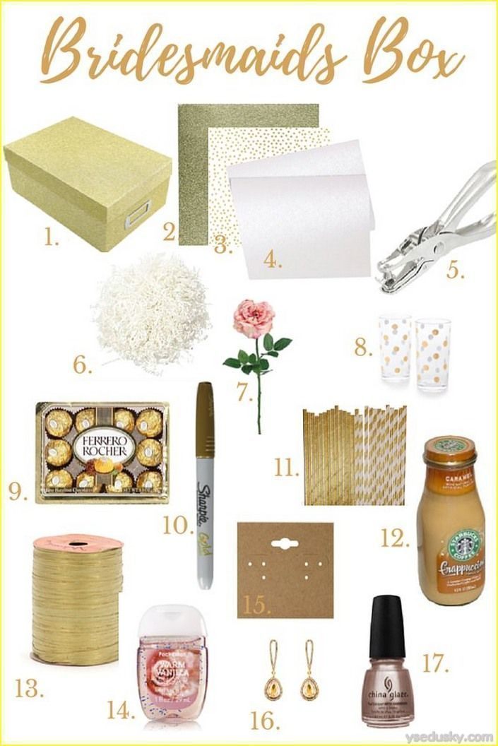 Awesome 50 Best Bridesmaid Gifts Diy Cheap And Simple