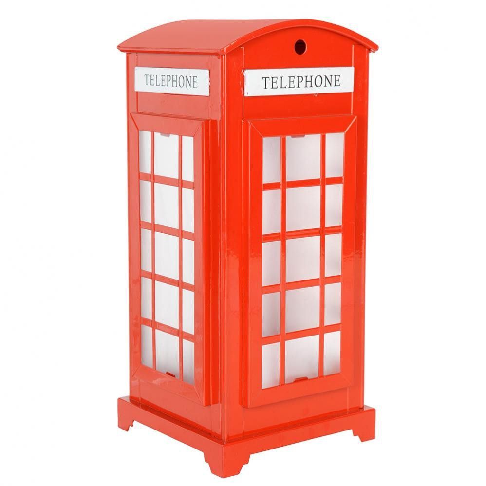 British booth red telephone box Lamp Londons Calling