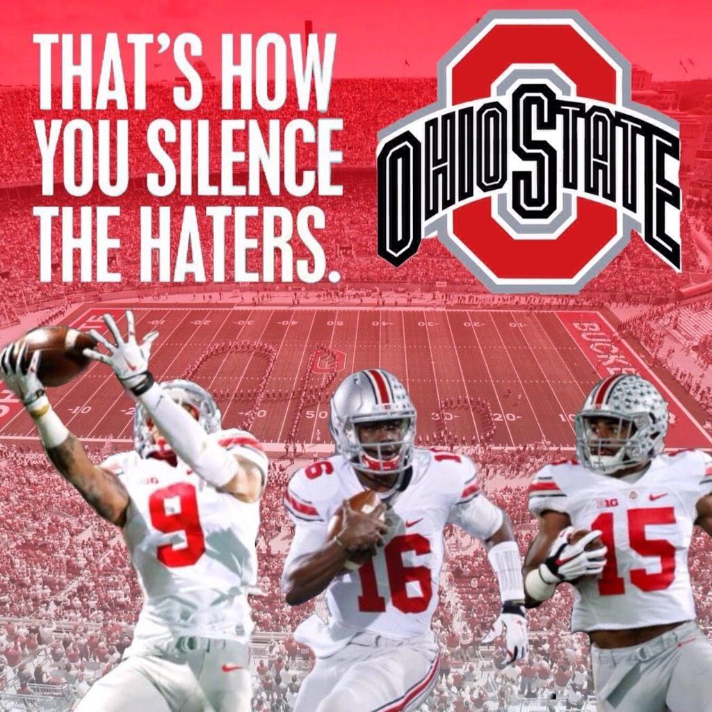 Mr Brooks On Twitter Ohio State Buckeyes Football Ohio State Football Buckeye Nation