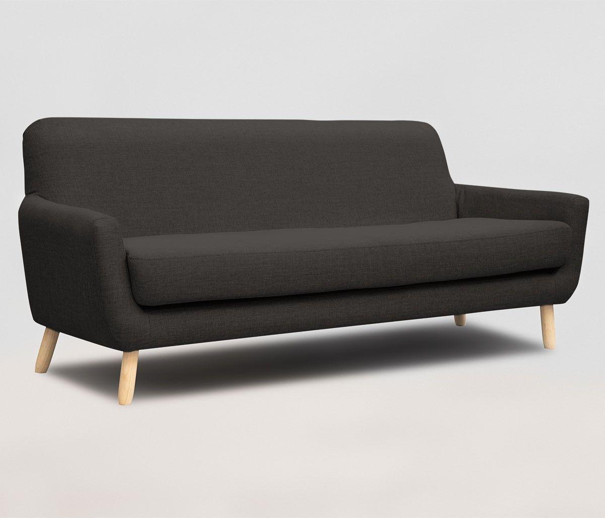 Sof Jitotol 3 Cuerpos Sentarse Muebles Mid Century Modern  # Muebles Falabella Santiago