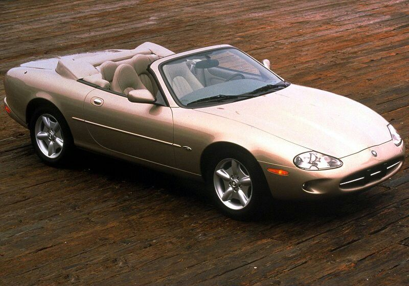 The Jaguar XK8 convertible. Sexy as hell.