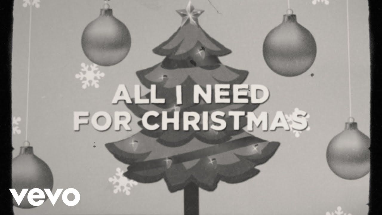 Tobymac Terrian All I Need For Christmas Lyric Video Youtube Christmas Lyrics Lyrics Christmas Song