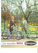 peugeot cycles bima 1954 catalogue brochure prospekt folder d pliant catalog ve culos. Black Bedroom Furniture Sets. Home Design Ideas