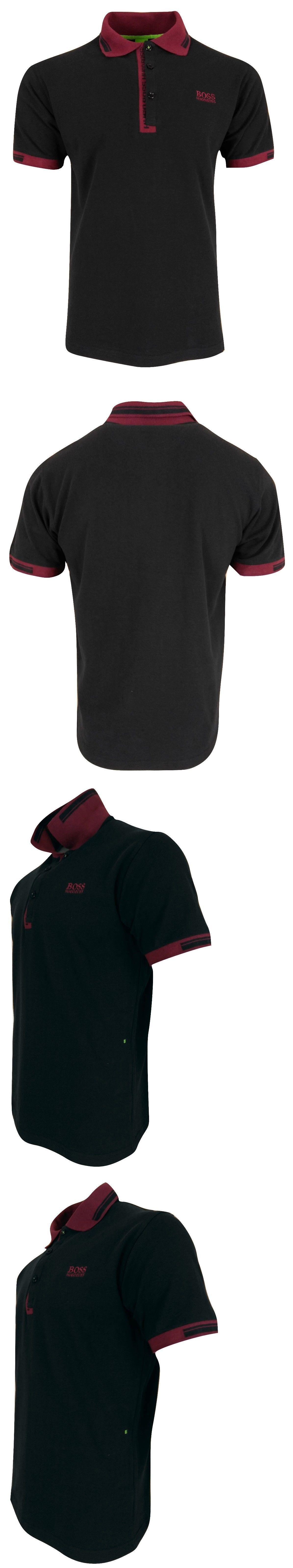 78cb68c96 Polos 185101: Hugo Boss Men'S Paule 4 Collar Detail S S Regular Fit Polo  Shirt -