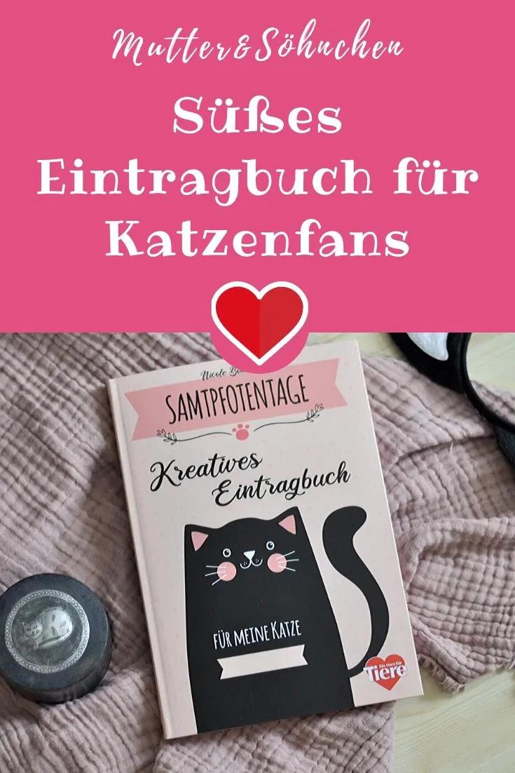 Eintragbuch für Katzenfans: Samtpfotentage