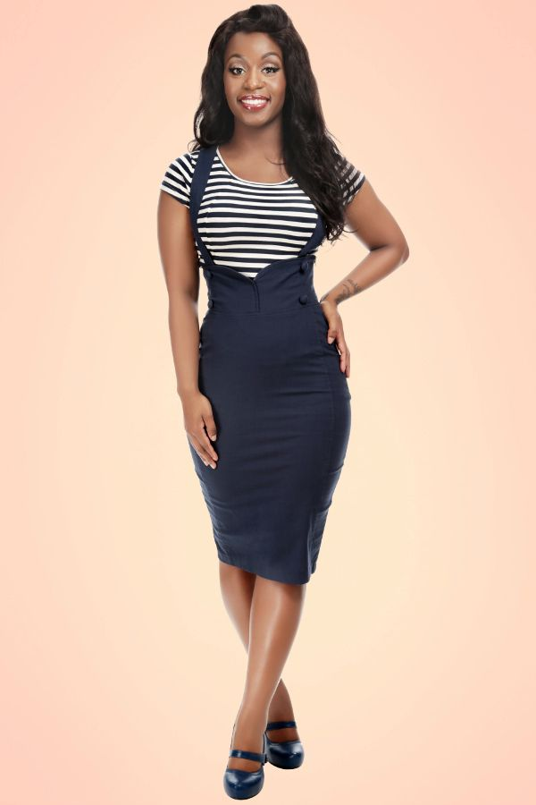 68feeb5d03701b collectif clothing vintage style 50s pin-up sailor agarva high waist ...