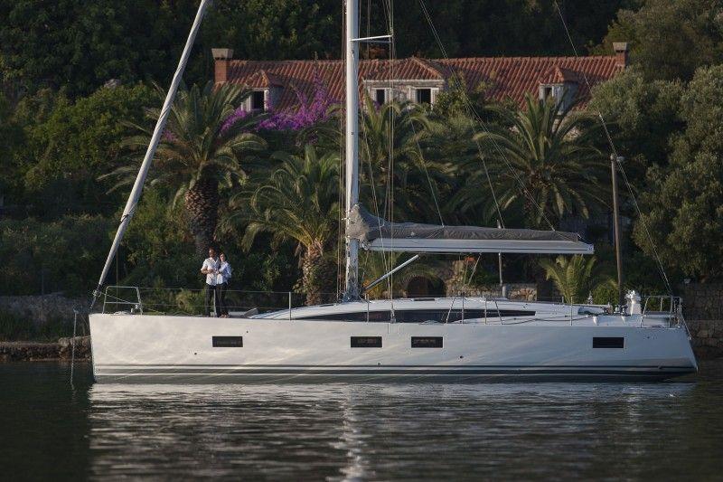 Segel katamaran innen  Sailboat Jeanneau 54 | Voilers | Pinterest