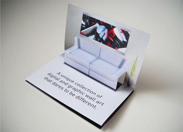 15 Cool Pop Up Business Cards Kreative Visitenkarten