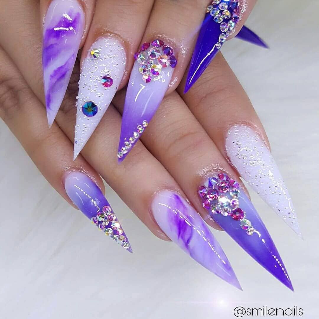 Good moring day so in love with jas color | Nails | Unghie ...