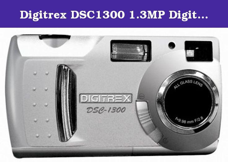 Digitrex DSC1300 1 3MP Digital Camera  1 3 megapixel sensor