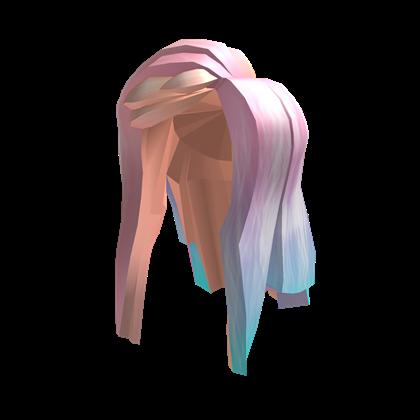Personaliza Tu Avatar Con El Objeto Long Pastel Hair Y Millones De